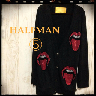 HALFMAN⑤Cardigan(カーディガン)