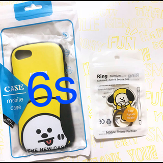 CHIMMY #3 iPhone 7/8 カバー & スマホリング 2点セット