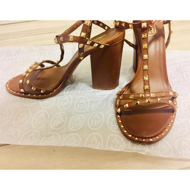ASH(アッシュ)のASH 10cm サンダル サイズ38 レディースの靴/シューズ(サンダル)の商品写真
