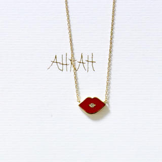 AHKAH - アーカー ダイヤモンドキス ネックレス