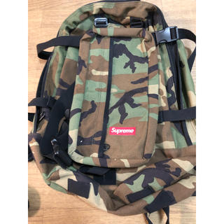 Supreme - supreme  2012SS バックパック 迷彩 backpack box