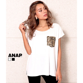 ANAP - ANAP パイソンポケットTシャツ 新品タグ付き
