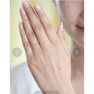 カナルヨンドシー(canal4℃)の canal4℃ k10  ダイヤモンドピンクゴールドリング(リング(指輪))