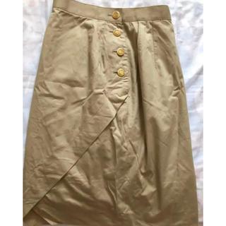 スカート ひざ丈 SOLEIL(ひざ丈スカート)