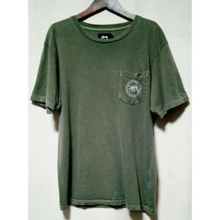 STUSSY - STUSSY ロゴ ポケT Tシャツ