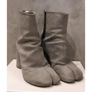 マルタンマルジェラ(Maison Martin Margiela)の【マルジェラ】セメント 足袋ブーツ(ブーツ)