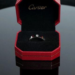 カルティエ(Cartier)の商品説明 ブランドCartier  素材SS/バックル革ベルト  ミネラルガ(リング(指輪))