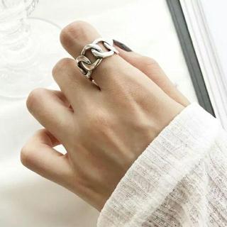 チェーンシルバーリング 084(リング(指輪))