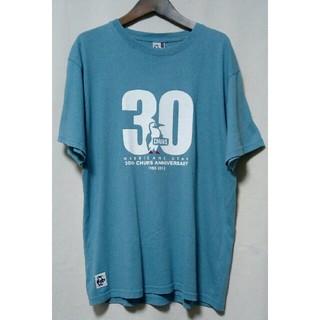 CHUMS - CHUMS チャムス 30周年anniversary ビッグロゴ ロゴ Tシャツ