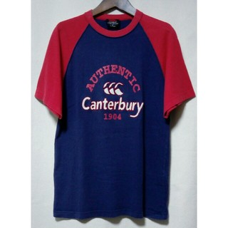 CANTERBURY - CANTERBURY MADE IN JAPAN ビッグロゴ ラグラン Tシャツ