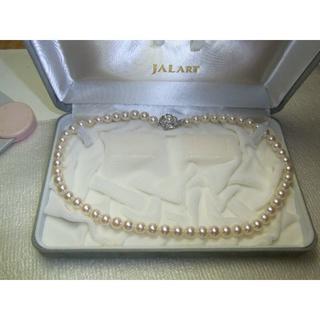 JAL(日本航空) - JAL ART・花珠レベル・7.0ミリ~7.5ミリ珠です。