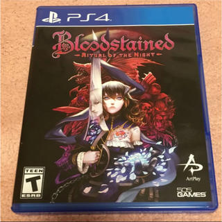 PlayStation4 - bloodstained美品
