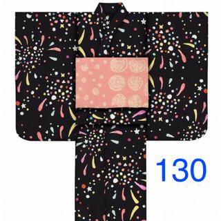 ツモリチサト(TSUMORI CHISATO)の130 新品 未使用 ツモリ ツモリチサト 浴衣 キッズ(甚平/浴衣)
