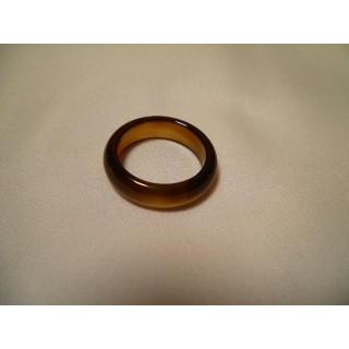 D54f55●パワーストーン●天然石メノウ指輪●瑪瑙 めのう●16号リング●(リング(指輪))