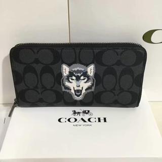 コーチ(COACH)のCOACH  コーチ 長財布 定番人気 新品正規品(財布)
