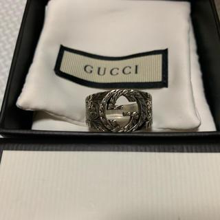 グッチ(Gucci)のGUCCI(グッチ)インターロッキングGリング(リング(指輪))
