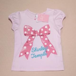 Shirley Temple - 新品タグ付き♡45th ドットリボン🎀Tee 100