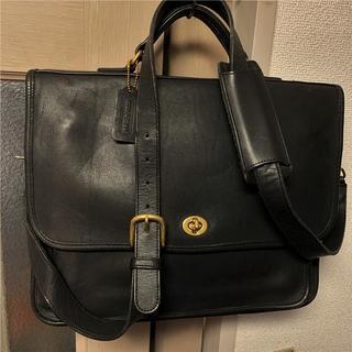 コーチ(COACH)の美品 OLD COACH 8万円前後 グローブレザービジネスバッグ(ビジネスバッグ)