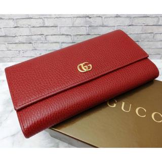 Gucci - ☆本日限定!☆GUCCI グッチ財布 GGマーモント 二つ折り レディース