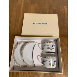 アビランド(Haviland)のHAVILAND アヴィランド カップ&ソーサー すみれ 2客から(食器)
