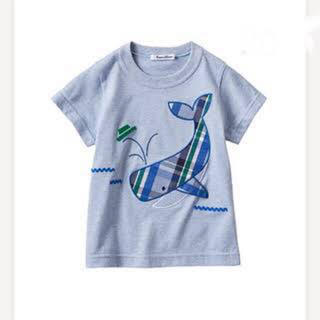 familiar - ファミリア  クジラTシャツ 90