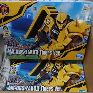 ハンシンタイガース(阪神タイガース)の【受注生産】HG1/144MS-06S ザクII タイガースバージョン(模型/プラモデル)
