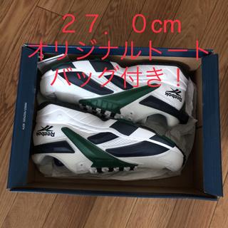 リーボック(Reebok)の【新品】 リーボック インターバル グリーン 27.0cm(スニーカー)