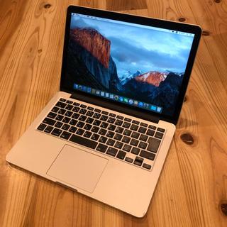 マック(Mac (Apple))のMacBookPro Retina 13inch Early2015 A28(ノートPC)