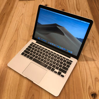 マック(Mac (Apple))の063 MacBookPro Retina 13inch Early2015(ノートPC)