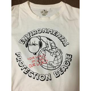 スヌーピー(SNOOPY)のSNOOPYTシャツ!!White!(Tシャツ(半袖/袖なし))