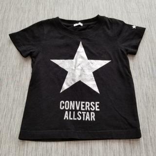♪USED CONVERSE スターTシャツ 黒 100㎝♪