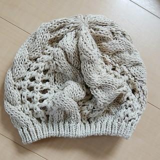 カスタネ(Kastane)のkastane  カスタネ ニットベレー帽(ハンチング/ベレー帽)