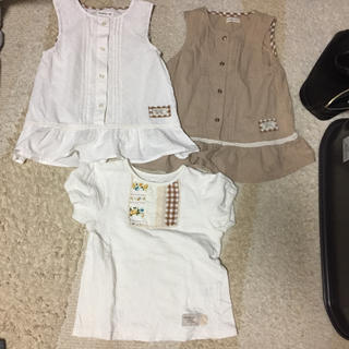 ビケット(Biquette)のビケット 120 女の子 半袖 ノースリーブ(Tシャツ/カットソー)