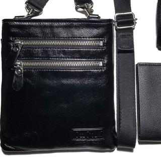 本革ショルダーバッグ&二つ折り財布2点セット‼️