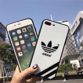 adidas - iphone ケース adidas 強化ガラス製
