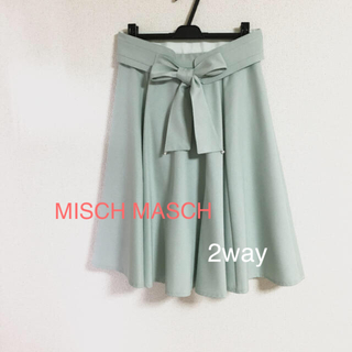MISCH MASCH - 美品♡ミッシュマッシュ 美人百花掲載  2way スカート  本日のみ