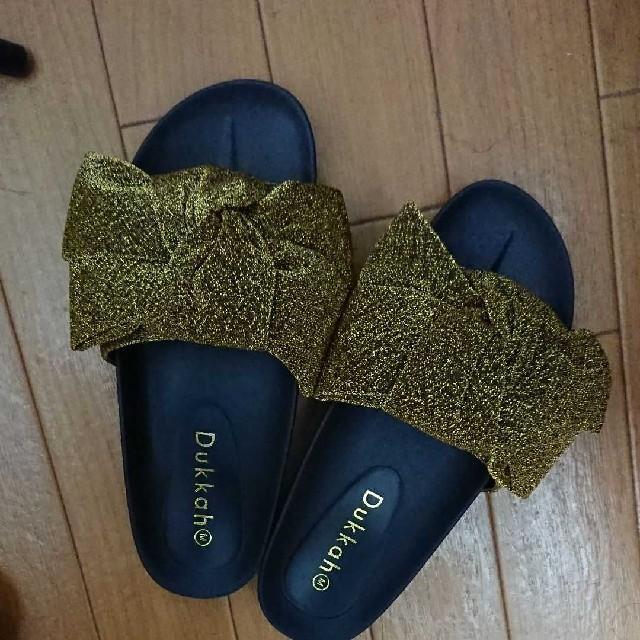 WEGO(ウィゴー)のリボンサンダル wego レディースの靴/シューズ(サンダル)の商品写真