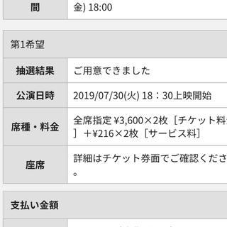 欅坂46(けやき坂46) - 長濱ねる 卒業イベント ライブビューイング Tジョイ品川 2枚