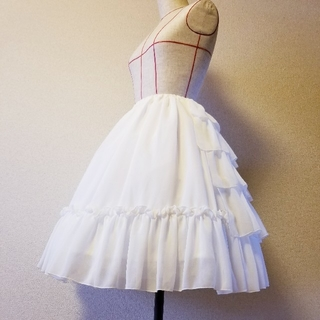 Victorian maiden - Victorian Maidenシフォンアンダースカート