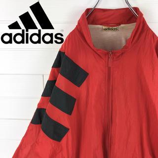 アディダス(adidas)のアディダス  ナイロンジャケット 90s 旧タグ オーバーサイズ ゆるだほ(ナイロンジャケット)