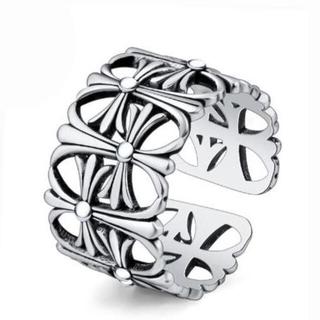 ネット編みデザインシルバーリング(リング(指輪))