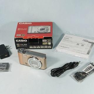 カシオ(CASIO)のカシオ EXILIM EX-ZR1700 自撮り対応デジカメ 送料込み(コンパクトデジタルカメラ)