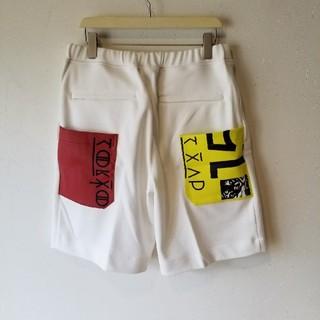オニツカタイガー(Onitsuka Tiger)のオニツカタイガー x アンドレアポンピリオ スポーツパンツ(ショートパンツ)