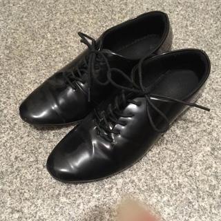 パーリッシィ(PAR ICI)のエナメルレースアップシューズ✾(ローファー/革靴)