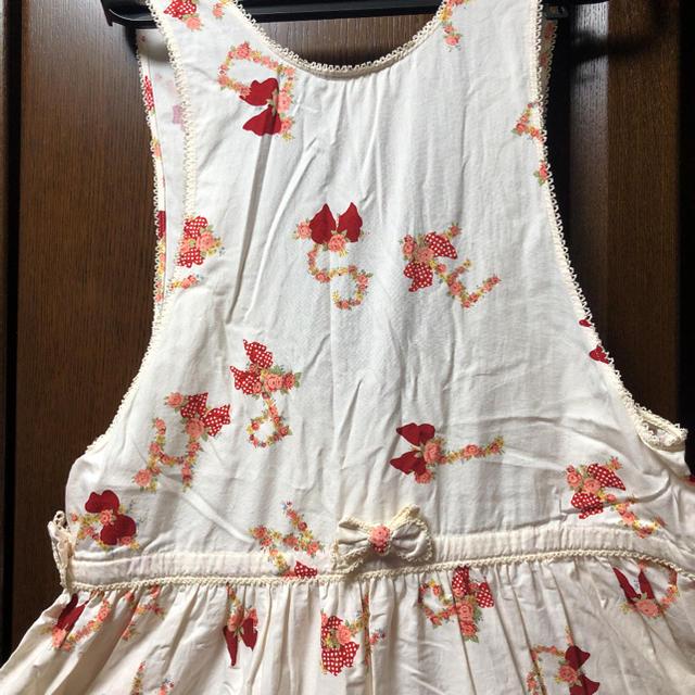 PINK HOUSE(ピンクハウス)のPINK HOUSE/ピンクハウス/ジャンパースカート レディースのスカート(ロングスカート)の商品写真