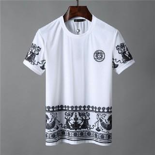 ヴェルサーチ(VERSACE)のVersace ヴェルサーチ tシャツ  メンズ  美品(Tシャツ/カットソー(半袖/袖なし))