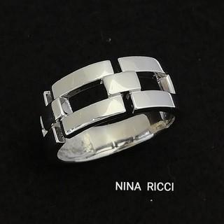 ニナリッチ(NINA RICCI)のしょうちゃん様専門♥️NINA RICCI スッキリデザイン リング Pt900(リング(指輪))