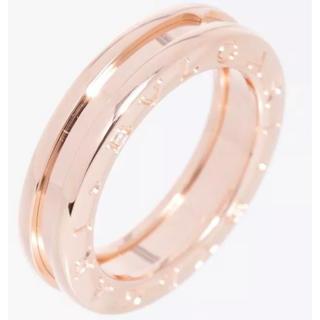 ブルガリ(BVLGARI)のブルガリピンクゴールド リング指輪中古美品 仕上げ済み#50(リング(指輪))