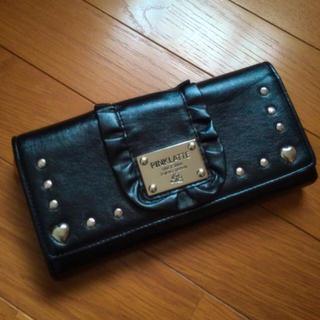 ピンクラテ(PINK-latte)の長財布 黒 Pinklatte (財布)
