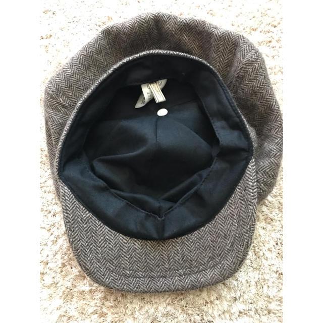 Ungrid(アングリッド)のungrid ニットキャスケット レディースの帽子(キャスケット)の商品写真